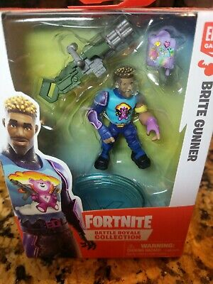 FORTNITE Battle Royale Collection BRITE GUNNER Figure - Accessories New