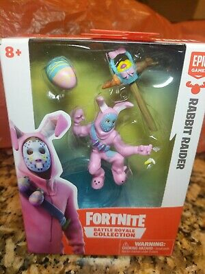 RABBIT RAIDER Fortnite Battle Royale Collection Figure Hockey Mask Easter Egg