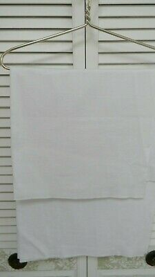 1 yd Remnants Fabric Cotton Jersey Lycra Spandex Knit White OR BlueWhite 64 w