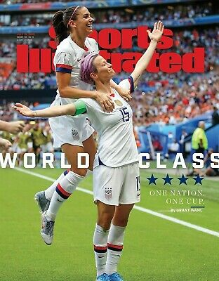 Megan Rapinoe US Womens world Cup sports Illustrated cover Photo - select size