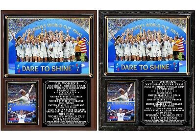 Team USA 2019  FIFA Womens World Cup Champions Soccer Photo Plaque