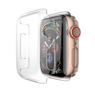 For Apple Watch Case Clear Slim Screen Protector Cover 38404244mm