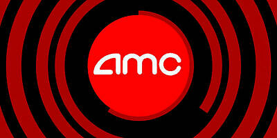 Qty 2 Gift Certificates for AMC Theaters Black MOVIE TICKET