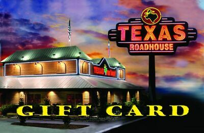 2 Texas Roadhouse 50 Gift Cards 100 total FREE SHIPPING