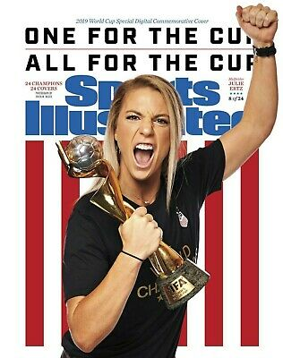 Julie Ertz US Womens World Cup Sports Illustrated cover Photo - select size
