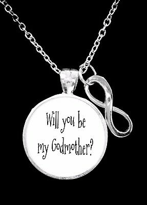 Godmother Necklace Will You Be My Godmother Mothers Day Gift Jewelry