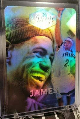 Lebron James Legends Draft Showcase Refractor Rookie 25 Artist Autograph