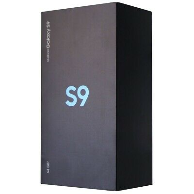 RETAIL BOX - Samsung Galaxy S9 - 64GB Blue - Tray Included - NO DEVICE