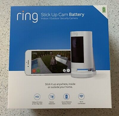 Ring Stick Up Cam Battery Black - BRAND NEW Factory Sealed