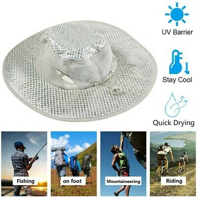 Evaporative Cooling Bucket Hat Hydro w UV Protection Cooler Arctic Caps US