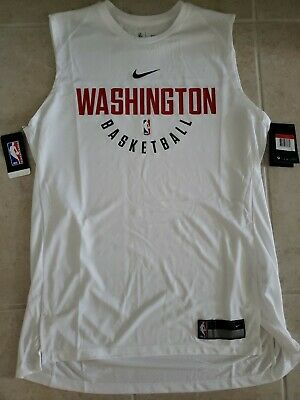 New Nike NBA Washington Wizards Elite Shooter Sleeveless Shirt Mens Large 80