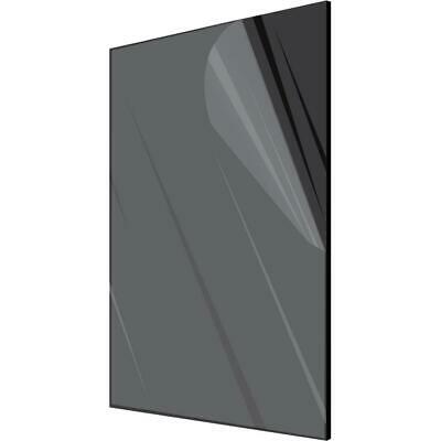 Acrylic Plexiglass Plastic Sheet   14 Thick - You Pick The Size Black