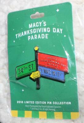 A Collectible Macys Thanksgiving Day Parade 2018 Limited Edition Pin  NEW