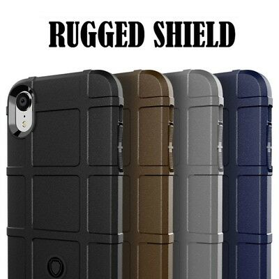 For Apple iPhone XXsXs MaxXr Shockproof Rugged Rubber TPU Hard Case Cover