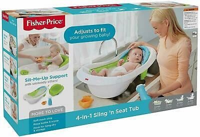Fisher-Price 4-in-1 Sling n Seat Tub New IN BOX SEALED