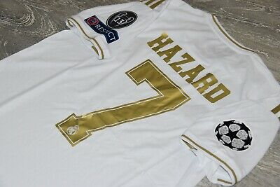 REAL MADRID HAZARD CHAMPIONS LEAGUE jersey SIZE M L or XL