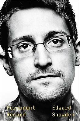 Permanent Record by Edward Snowden Social Activist Hardcover September 17 2019