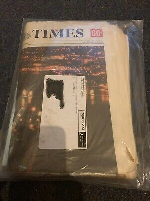 The Times Millennium Edition With Certificate Of Authenticity Sealed New
