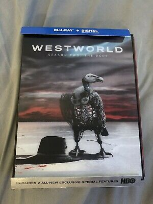 Westworld Season 2 BluRay NEW No Digital W SLIPCOVER FAST FREE SHIP