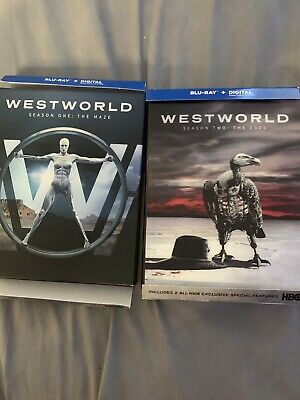 Westworld Season 1-2 Blu Ray NO DIGITAL HD New