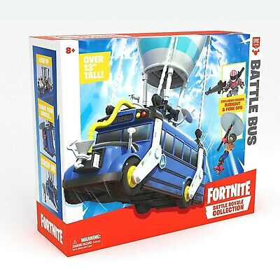 Fortnite Battle Royale Collection Battle Bus - 2 Exclusive Figures-SHIPPED FREE
