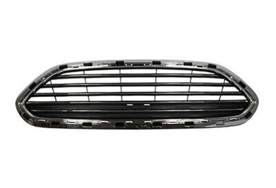 NEW Upper Grille Chrome Fits For 2014-2019 Ford Fiesta D2BZ17B968AA