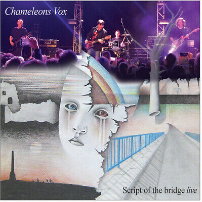 Chameleons Vox - Script Of The Bridge live New Vinyl Explicit Gatefold LP J