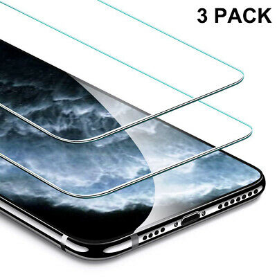 3-Pack For Apple iPhone 11 11 Pro  11 Pro Max Screen Protector Tempered Glass