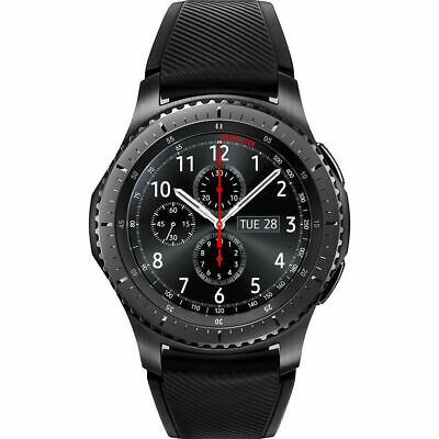 Samsung Galaxy Gear S3 Frontier Dark Grey Stainless Smartwatch SM-R760NDAAXAR