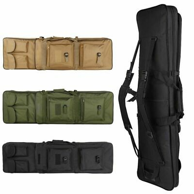 39 Tactical Carbine Rifle Range Gun Carry Case Double Padded Backpack Molle Bag