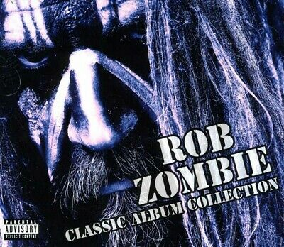 Rob Zombie - Classic Album Collection New CD Explicit