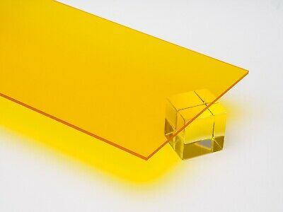 Acrylic Plexiglass Transparent Plastic Sheet 18 Thick You Pick The Size Color