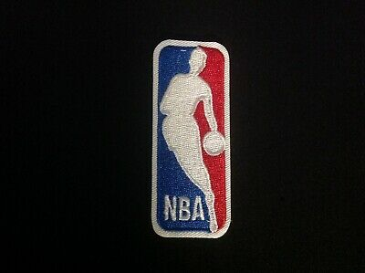 3 NBA NATIONAL BASKETBALL ASSOCIATION CLASSIC LOGO EMBROIDERED IRON ON PATCH