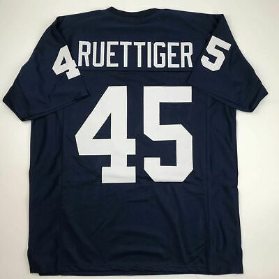 New RUDY RUETTIGER Notre Dame Blue College Custom Stitched Football Jersey XL
