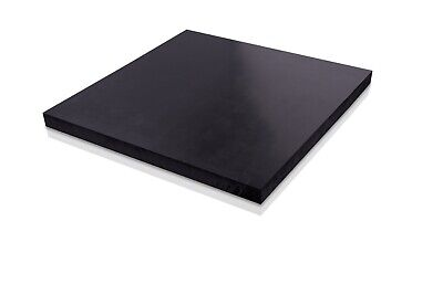 UHMW Black Plastic Polyethylene Sheets You Pick The Size - Thickness