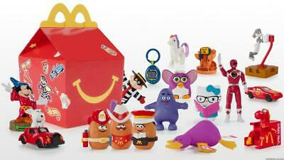 Surprise 40th Anniversary 2019 McDonalds Happy Meal Toys 1-18 Plus Full Set