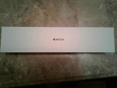 Apple Watch Series 3 Box ONLY White 38 mm Silver Aluminum