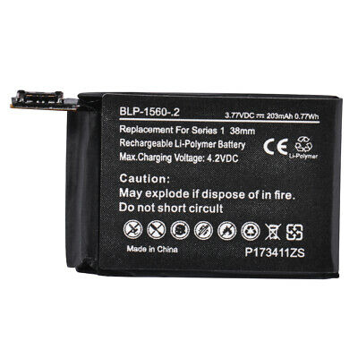 Relacement Battery 203mAh For Apple watch 38mm Series 1 A1578 Series1 38mmTE1179