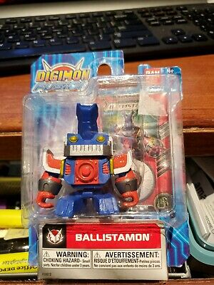 Bandai Digimon Fusion Ballistamon Mini Action Figure W Trading Card Dated 2013