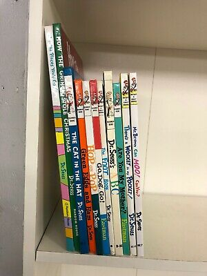 Dr Seuss Books Lot 11 Books Collection Set All Hardcover