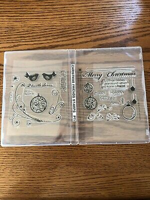 Papertrey Ink Christmas Friends Stamp Set New