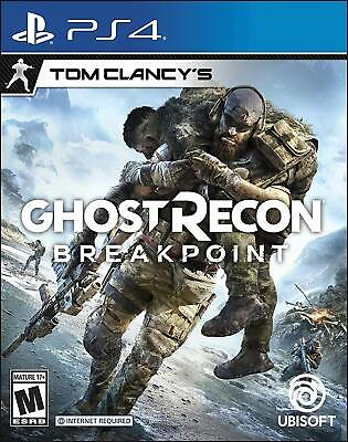 Tom Clancys Ghost Recon Breakpoint - PlayStation 4 PS4 Games 2019 Sealed New