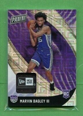 MARVIN BAGLEY III 2018-19 PANINI BLACK FRIDAY ROOKIE NEW ERA TAG PATCH 525 KING