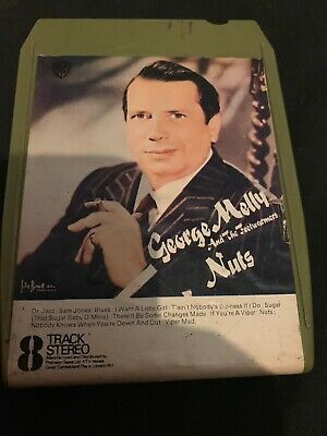 George Melly And The Trenchwarmers Nuts 8 Track Tape