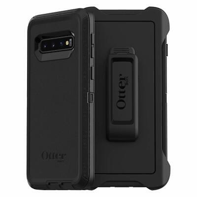 OtterBox DEFENDER SERIES Case - Holster for Galaxy S10 ONLY - Black