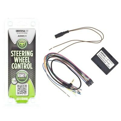 AXXESS METRA ASWC-1 UNIVERSAL CAR OEM STEERING WHEEL CONTROL INTERFACE NEW
