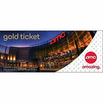 AMC Theatres Gold Experience Movie Ticket for 2 Admissions