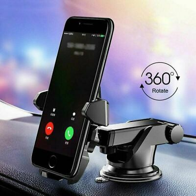 360° Car Phone Holder Windshield Dash Suction Cup Mount Stand For Cell Phone GPS