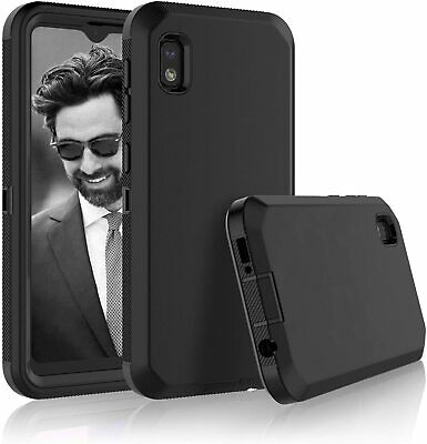 For SAMSUNG GALAXY A10E Full Cover Phone Case Cover - Tempered Glass Protector