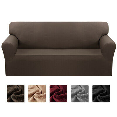 Stretch Sofa Slipcover 1 Piece Sofa Cover for 1234 Cushion Couch Protector